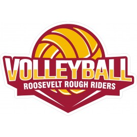 RHS Volleyball window decal